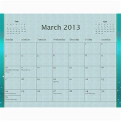 2013 Final By Terry   Wall Calendar 11  X 8 5  (12 Months)   Elkp8ibittec   Www Artscow Com Mar 2013