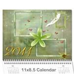 Stan - Wall Calendar 11  x 8.5  (12-Months)