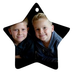 Deborah Veatch New Pic Design7  Star Ornament (two Sides) by tammystotesandtreasures