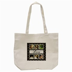 Love Days Tote Bag By Deborah   Tote Bag (cream)   Lig0nol0o8dy   Www Artscow Com Front