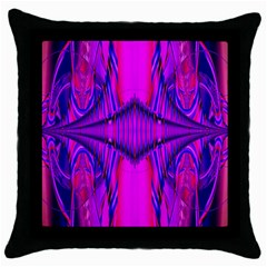 Modern Art Black Throw Pillow Case by Siebenhuehner