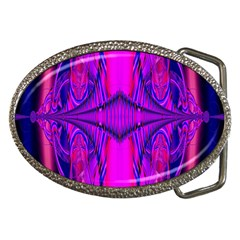Modern Art Belt Buckle (oval) by Siebenhuehner