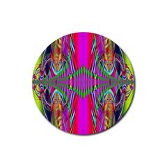 Modern Art Drink Coaster (round) by Siebenhuehner