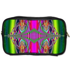 Modern Art Travel Toiletry Bag (two Sides) by Siebenhuehner
