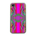 Modern Art Apple iPhone 4 Case (Clear) Front
