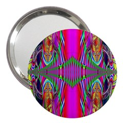 Modern Art 3  Handbag Mirror by Siebenhuehner