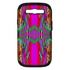 Modern Art Samsung Galaxy S Iii Hardshell Case (pc+silicone) by Siebenhuehner