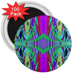 Modern Design 3  Button Magnet (100 Pack) by Siebenhuehner