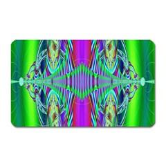Modern Design Magnet (rectangular) by Siebenhuehner
