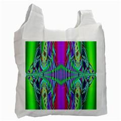 Modern Design Recycle Bag (one Side) by Siebenhuehner