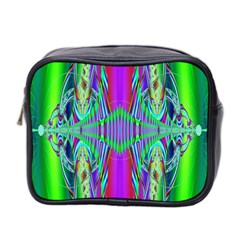 Modern Design Mini Travel Toiletry Bag (two Sides) by Siebenhuehner