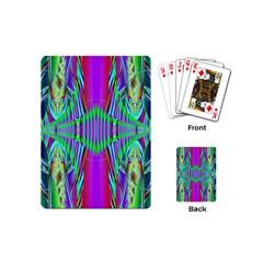 Modern Design Playing Cards (mini) by Siebenhuehner