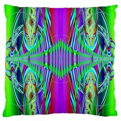 Modern Design Large Cushion Case (two Sided)  by Siebenhuehner