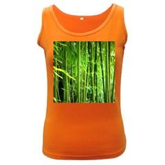 Bamboo Womens  Tank Top (dark Colored) by Siebenhuehner