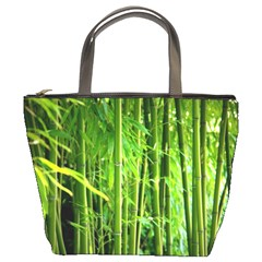 Bamboo Bucket Bag by Siebenhuehner