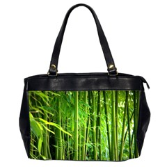 Bamboo Oversize Office Handbag (two Sides) by Siebenhuehner