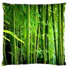 Bamboo Large Cushion Case (single Sided)  by Siebenhuehner