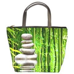 Balance  Bucket Bag by Siebenhuehner