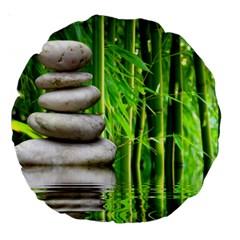 Balance  18  Premium Round Cushion  by Siebenhuehner
