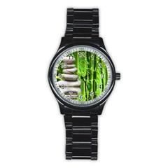 Balance  Sport Metal Watch (black) by Siebenhuehner
