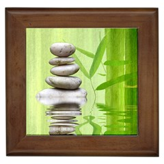 Balance Framed Ceramic Tile by Siebenhuehner