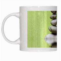 Balance White Coffee Mug by Siebenhuehner