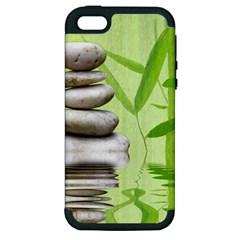 Balance Apple Iphone 5 Hardshell Case (pc+silicone) by Siebenhuehner