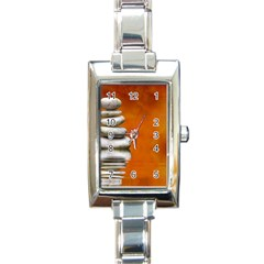 Balance Rectangular Italian Charm Watch by Siebenhuehner