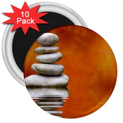 Balance 3  Button Magnet (10 Pack)