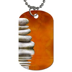 Balance Dog Tag (two Sided)  by Siebenhuehner