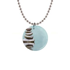 Balance Button Necklace by Siebenhuehner