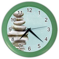 Balance Wall Clock (color) by Siebenhuehner
