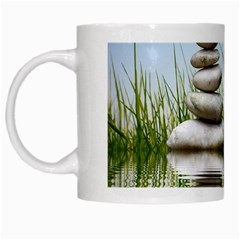 Balance White Coffee Mug by Siebenhuehner