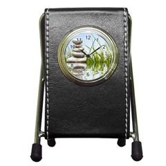 Balance Stationery Holder Clock by Siebenhuehner