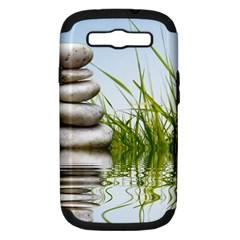 Balance Samsung Galaxy S Iii Hardshell Case (pc+silicone) by Siebenhuehner