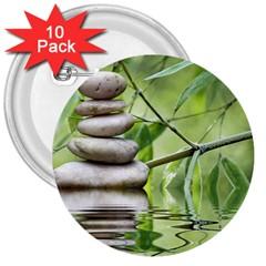 Balance 3  Button (10 Pack) by Siebenhuehner