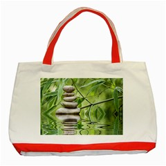 Balance Classic Tote Bag (red) by Siebenhuehner