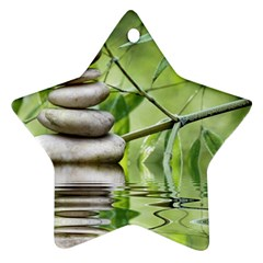 Balance Star Ornament (two Sides) by Siebenhuehner