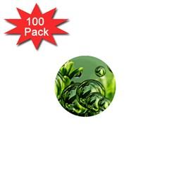 Magic Balls 1  Mini Button Magnet (100 Pack) by Siebenhuehner