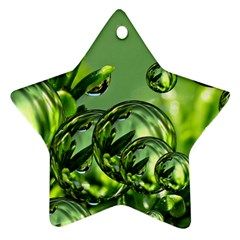 Magic Balls Star Ornament (two Sides) by Siebenhuehner