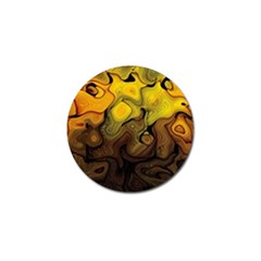 Modern Art Golf Ball Marker by Siebenhuehner