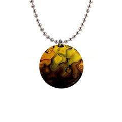 Modern Art Button Necklace by Siebenhuehner