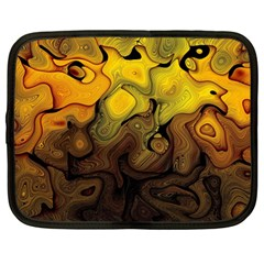 Modern Art Netbook Case (large) by Siebenhuehner