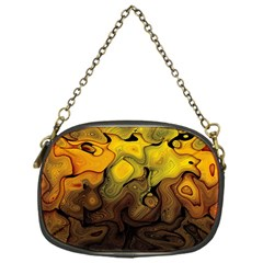 Modern Art Chain Purse (one Side) by Siebenhuehner
