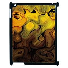 Modern Art Apple Ipad 2 Case (black)