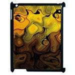 Modern Art Apple iPad 2 Case (Black) Front