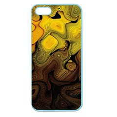 Modern Art Apple Seamless Iphone 5 Case (color) by Siebenhuehner