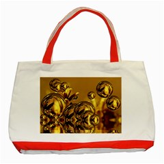 Magic Balls Classic Tote Bag (red) by Siebenhuehner