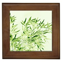 Bamboo Framed Ceramic Tile by Siebenhuehner