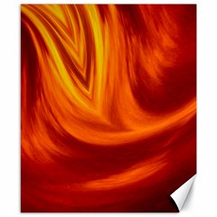 Wave Canvas 8  X 10  (unframed)